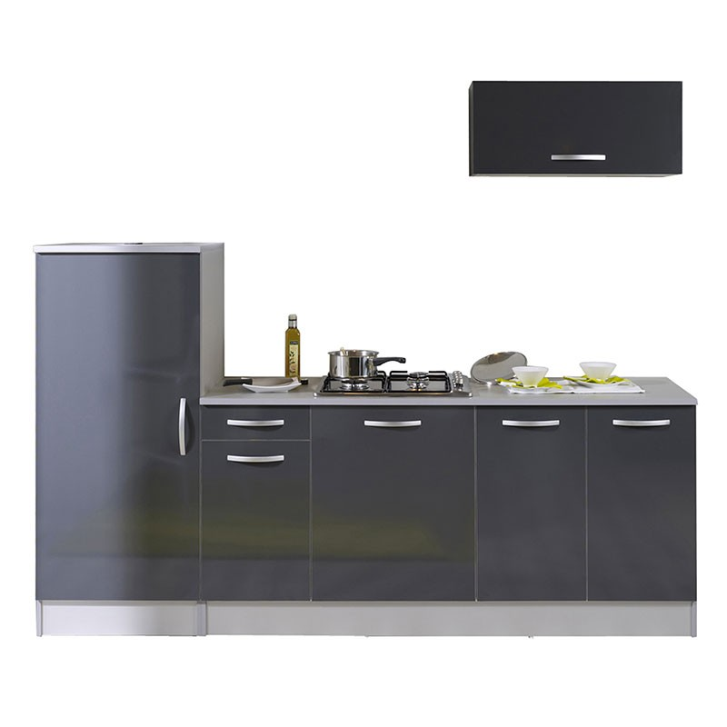 ensemble de cuisine clara gris. Black Bedroom Furniture Sets. Home Design Ideas