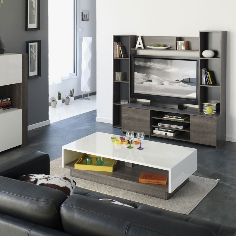 meuble tv chene conforama. Black Bedroom Furniture Sets. Home Design Ideas