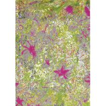 "Tapis Arte Espina ""Paint Box"" Fleurs Multicolore"