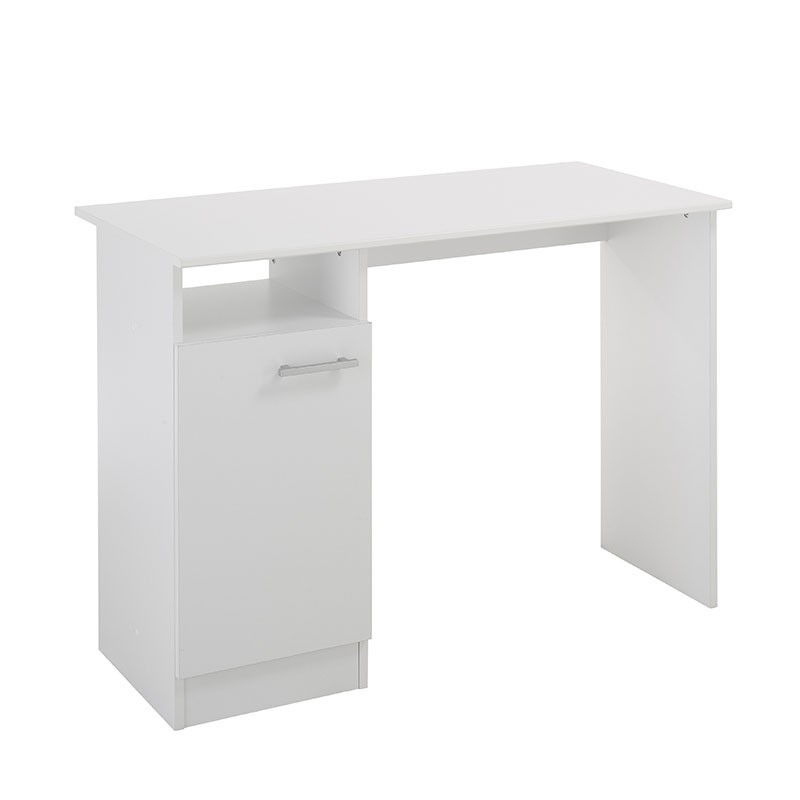 bureau 1 porte galaxy blanc. Black Bedroom Furniture Sets. Home Design Ideas