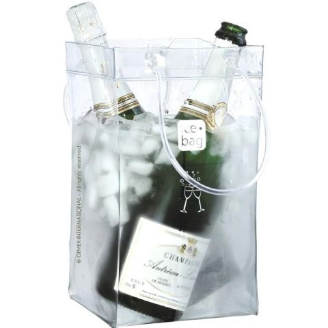 Sac à glace ICE BAG King Size Transparent