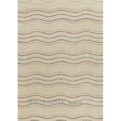 "Tapis Arte Espina ""Natural Linear"" Vagues Beige"