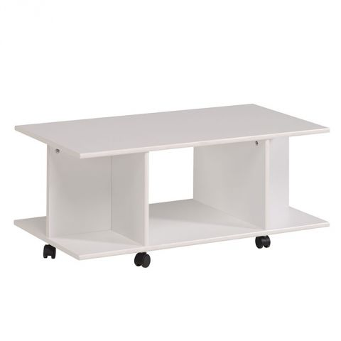 "Table Basse ""Galaxy"" Blanc"