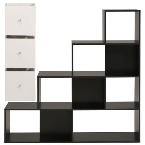 bibliotheque noir. Black Bedroom Furniture Sets. Home Design Ideas
