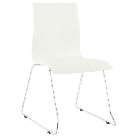 "Chaise Design ""Kyara"" Blanc"