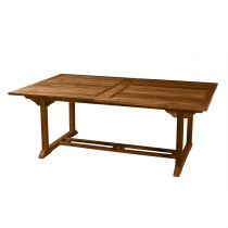 "Table de Repas Extensible ""Troxi"" 200-300cm Naturel"