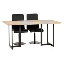 "Table de Repas ""Izzy"" 160cm Naturel"