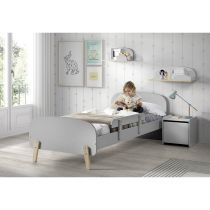 "Chambre Complète 5P ""Kiddy III"" Gris"