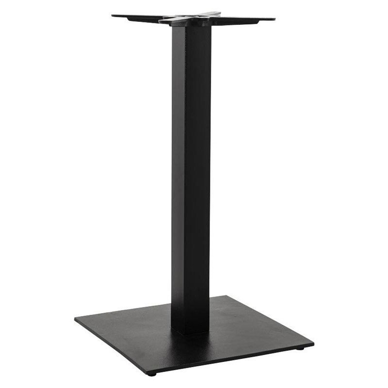 Pied de table hero 90cm noir - Pieds de table 90 cm ...