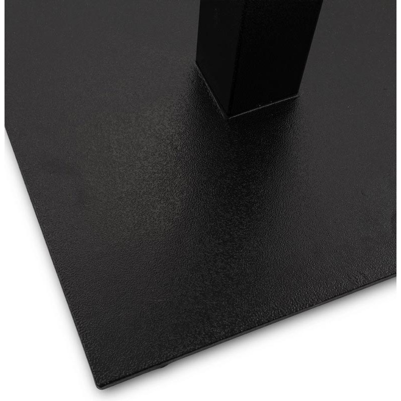 pied de table hero 90cm noir. Black Bedroom Furniture Sets. Home Design Ideas
