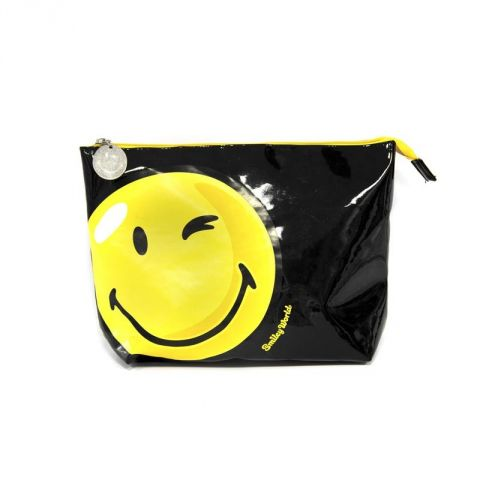 Trousse à Maquillage Smiley World® Noir