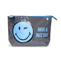Trousse à Maquillage Smiley World® Bleu