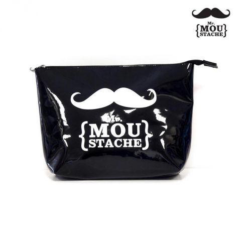 Trousse de Toilette Mr Moustache® Noir