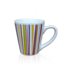 "Mug Conique Céramique ""Geometrik"" Multicolore"