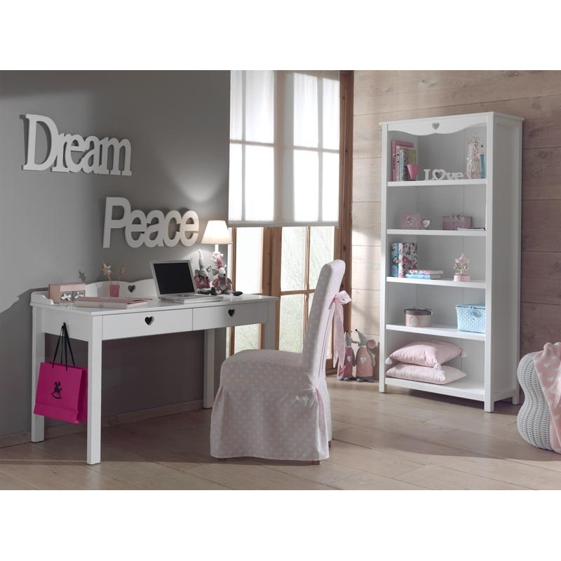 biblioth que enfant amori blanc. Black Bedroom Furniture Sets. Home Design Ideas