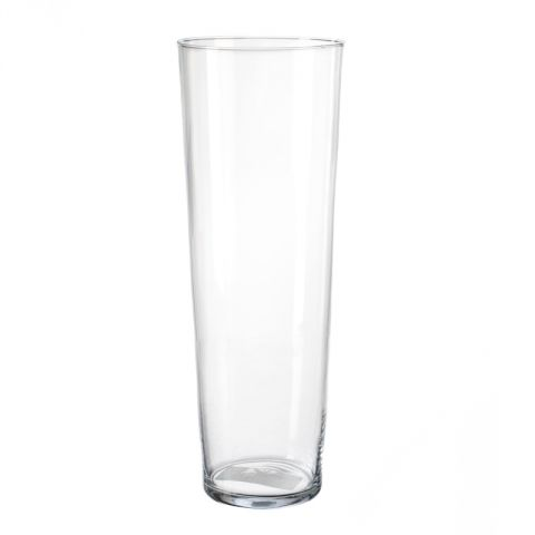 Vase Conique 40cm Transparent