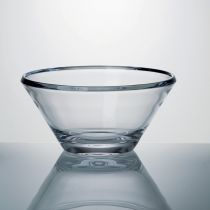 "Coupe Cristallin ""Campos"" 28cm Transparent"