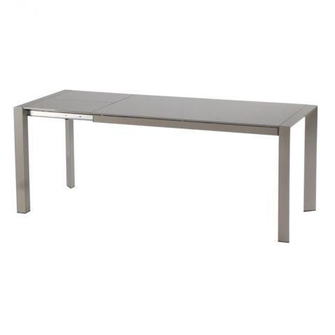 "Table Extensible ""Elvio"" Taupe"