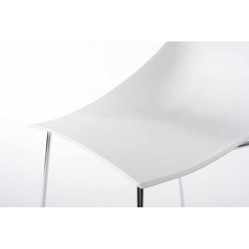 Chaise design paper blanche for Chaise design blanche