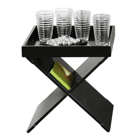 "Table D'appoint ""Xeno"" Noir"