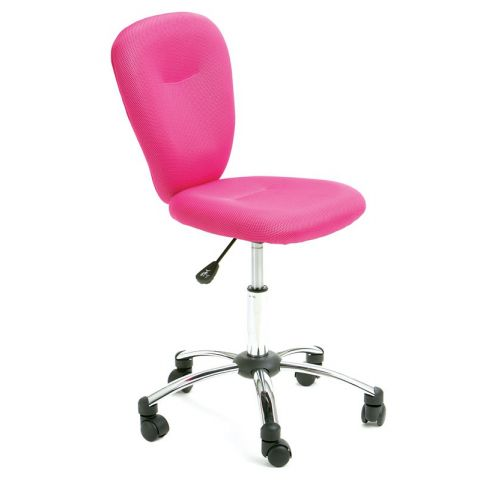 "Chaise de bureau ""Colors"" Rose"