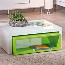 "Table Basse ""Windy"" Vert"