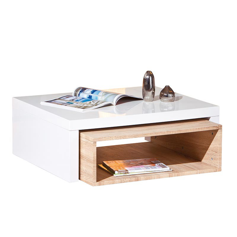 Table basse windy ch ne sonoma for Table basse sonoma