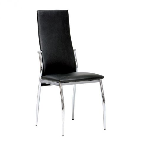 "Chaise Design ""Fino"" Noir"