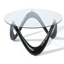 "Table Basse Design ""Valentina"" Noir"