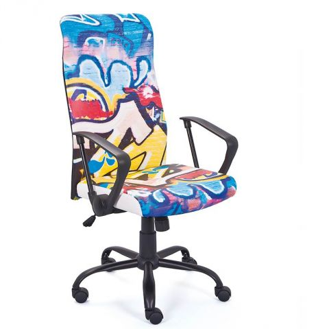 fauteuil de bureau street graffiti. Black Bedroom Furniture Sets. Home Design Ideas