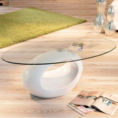 "Table Basse ""Vicky"" Blanc"