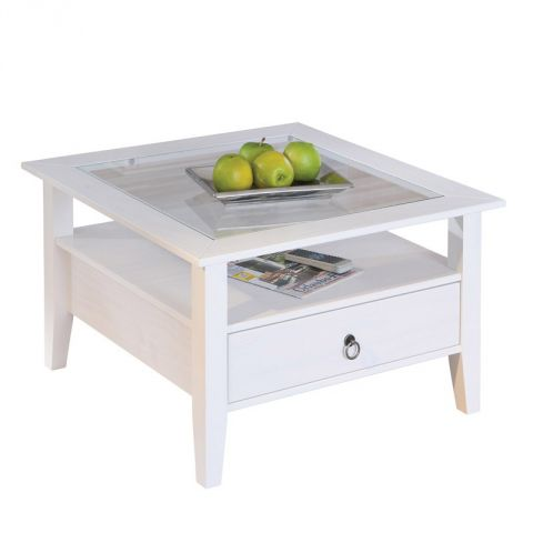"Table Basse ""Abigael"" Blanc"