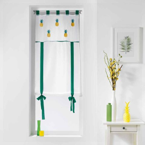 store voilage ananis 60x150cm blanc