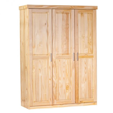 "Armoire 3 portes  ""Angel""  Naturel"