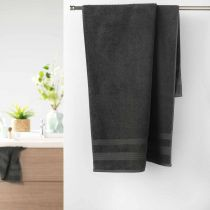 "Drap de Douche ""Excellence"" 70x130cm Anthracite"