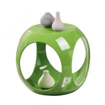 """Table d'Appoint Design """"Word"""" Vert"""