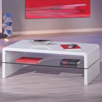"Table Basse ""Miko"" Blanc"