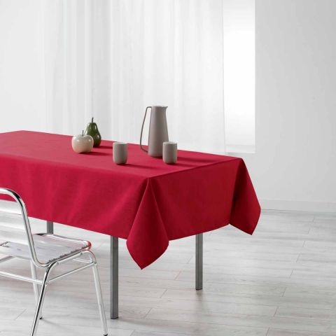 "Nappe Rectangulaire ""Liany"" 140x250cm Rouge"