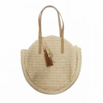 "Sac de Plage ""Atlantique"" 35cm Naturel"