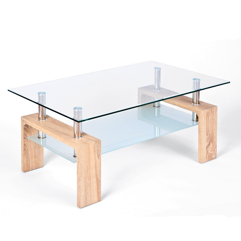 Table basse leny ch ne sonoma for Table basse sonoma