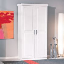 "Armoire 2 Portes ""Angel"" Blanc"