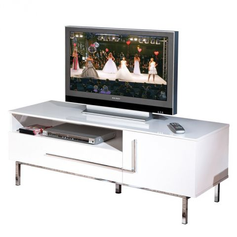 "Meuble TV Design ""Rapido"" Blanc"