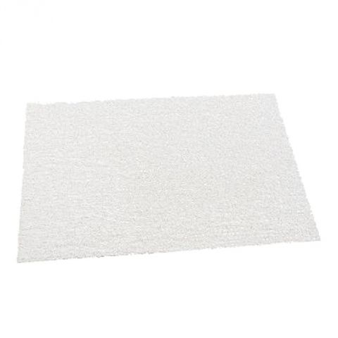 "Set de Table Rectangulaire ""Spaghetti"" 30x45cm Blanc"