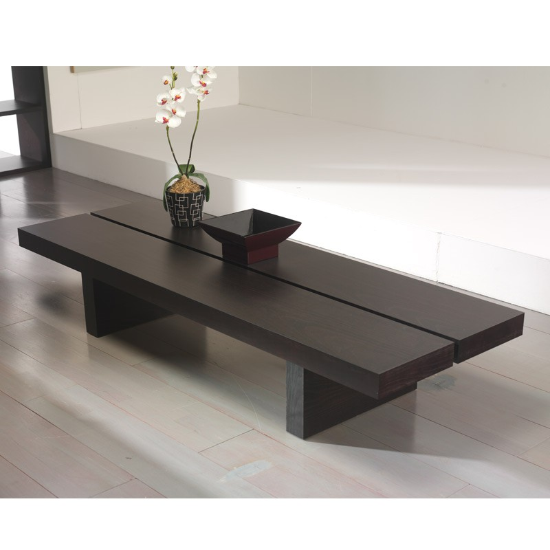 Temahome table basse 150cm tokyo weng for Table 150 cm