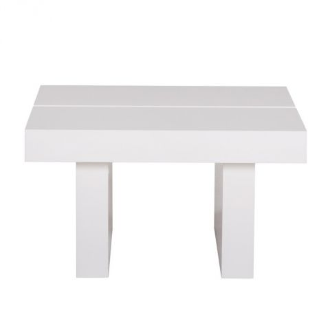 """TemaHome - Table d'Appoint 62cm """"Tokyo"""" Blanc Brillant"""