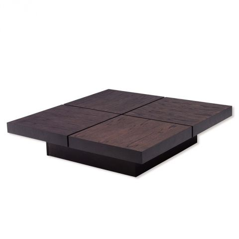 "TemaHome - Table Basse 111cm ""Kyoto"" Chocolat"