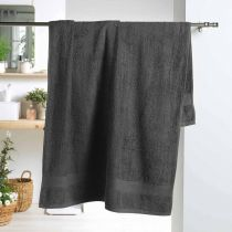 "Drap de Bain ""Colors"" 90x150cm Anthracite"