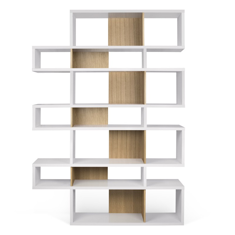 Temahome tag re biblioth que london 3 blanc mat ch ne - Bibliotheque ikea blanche ...