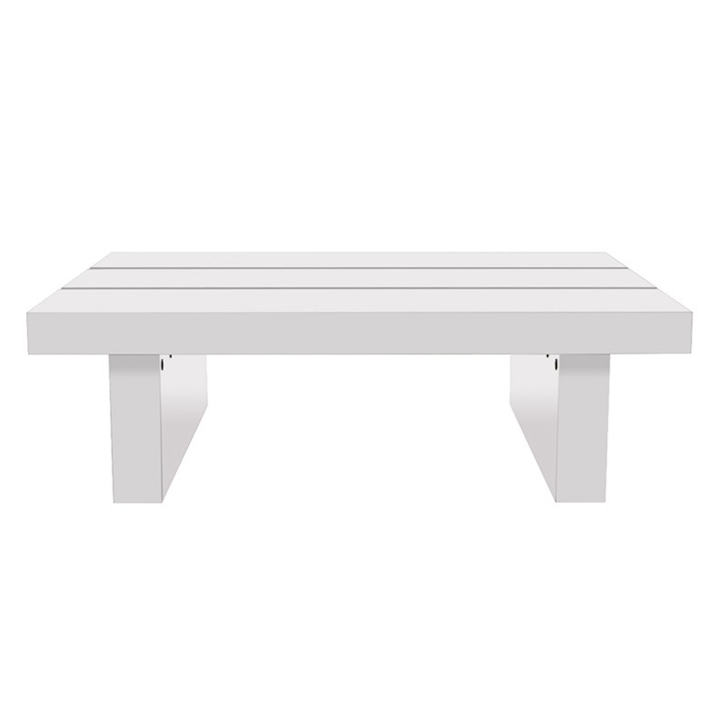 temahome table basse 94cm tokyo blanc brillant. Black Bedroom Furniture Sets. Home Design Ideas