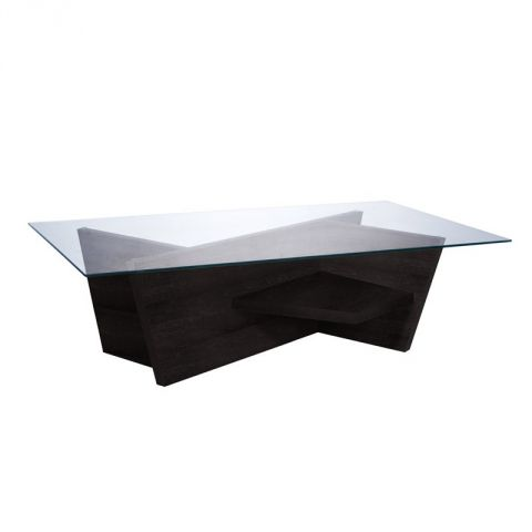 "TemaHome - Table Basse 120cm ""Oliva"" Wengé"
